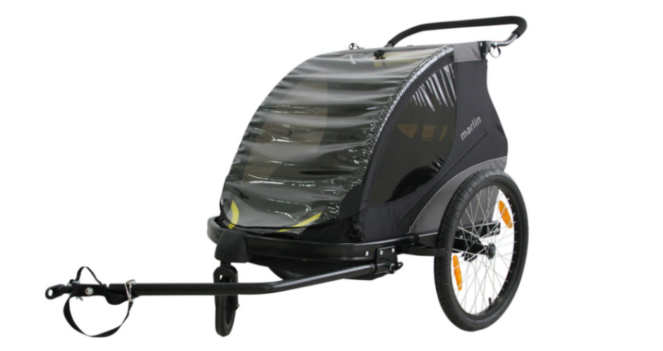 Bike trailer - Award winning Dolphin & Donkey bike trailers