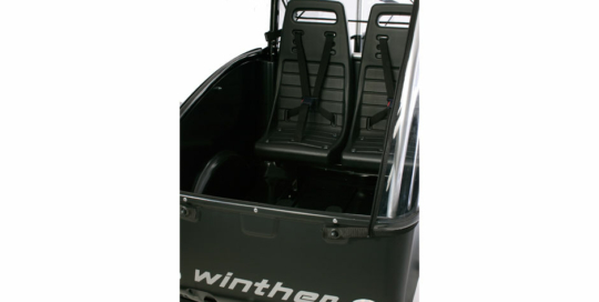 To bagsæder til Winther Cargoo