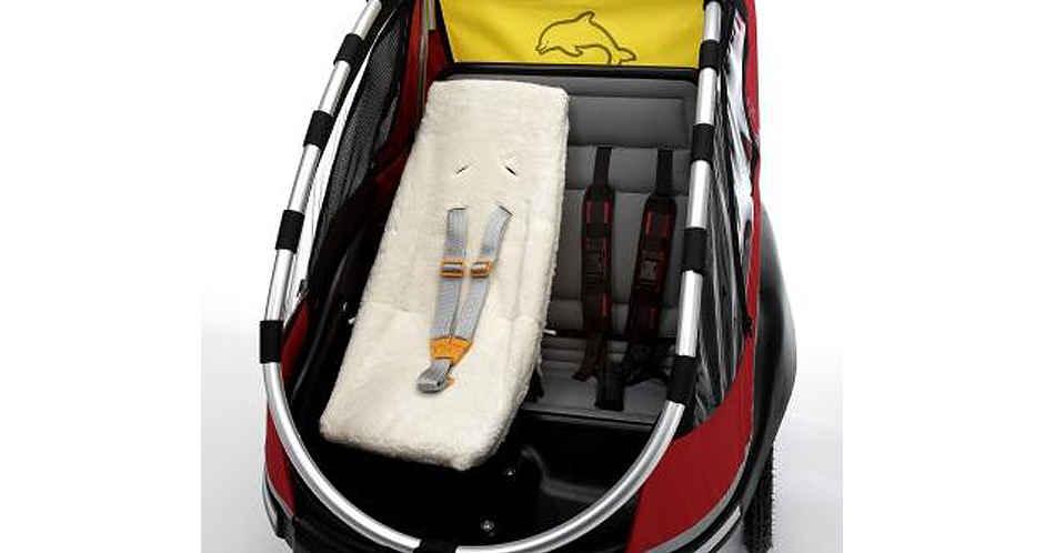Babysæde til Dolphin cykeltrailer